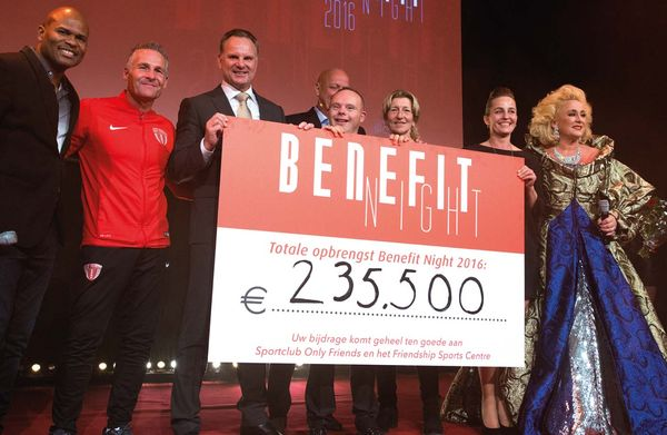 BENEFIT NIGHT 2016 - FRIENDSHIP SPORTS CENTRE & ONLY FRIENDS