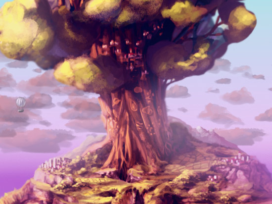 Tree of Life - This was a inspired a bit from an old game I loved when I was a kid, Below the Root. It was included in weatherwise as a gift for users that had the app for more than 30 days. I felt like it was good free theme, since it was like the zen tree matured and grew up.