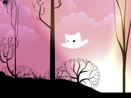 Bebe & Toots - This is a simple stylized illustration that is more procedural than handcrafted. I drew various elements and had the weatherwise software procedural combine them based on weather data.