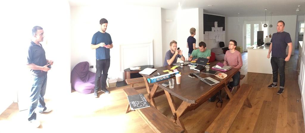Beta sprint 1 demo, retrospective and planning ceremonies.