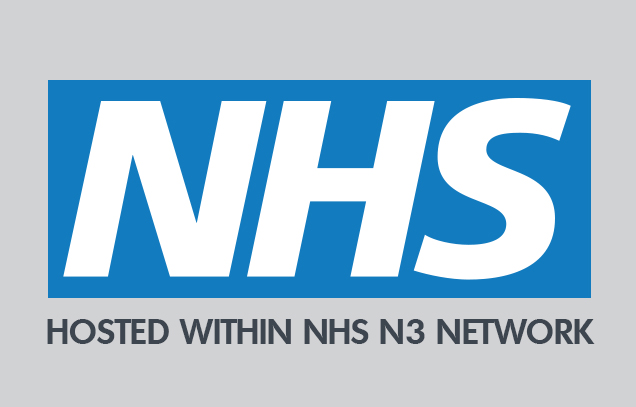 Compliance with NHS information governance standards and hosting within the NHS N3 Network.