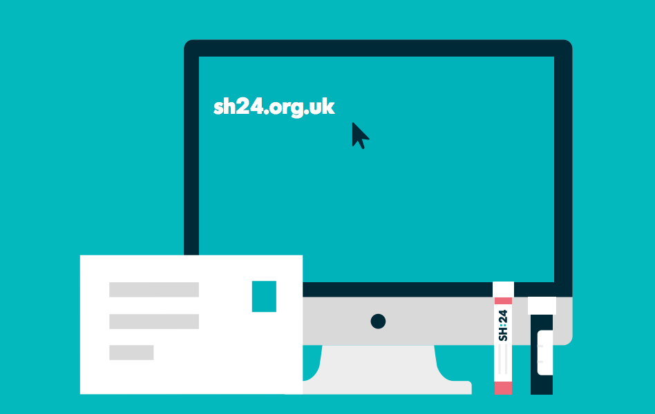 Online access to STI testing services