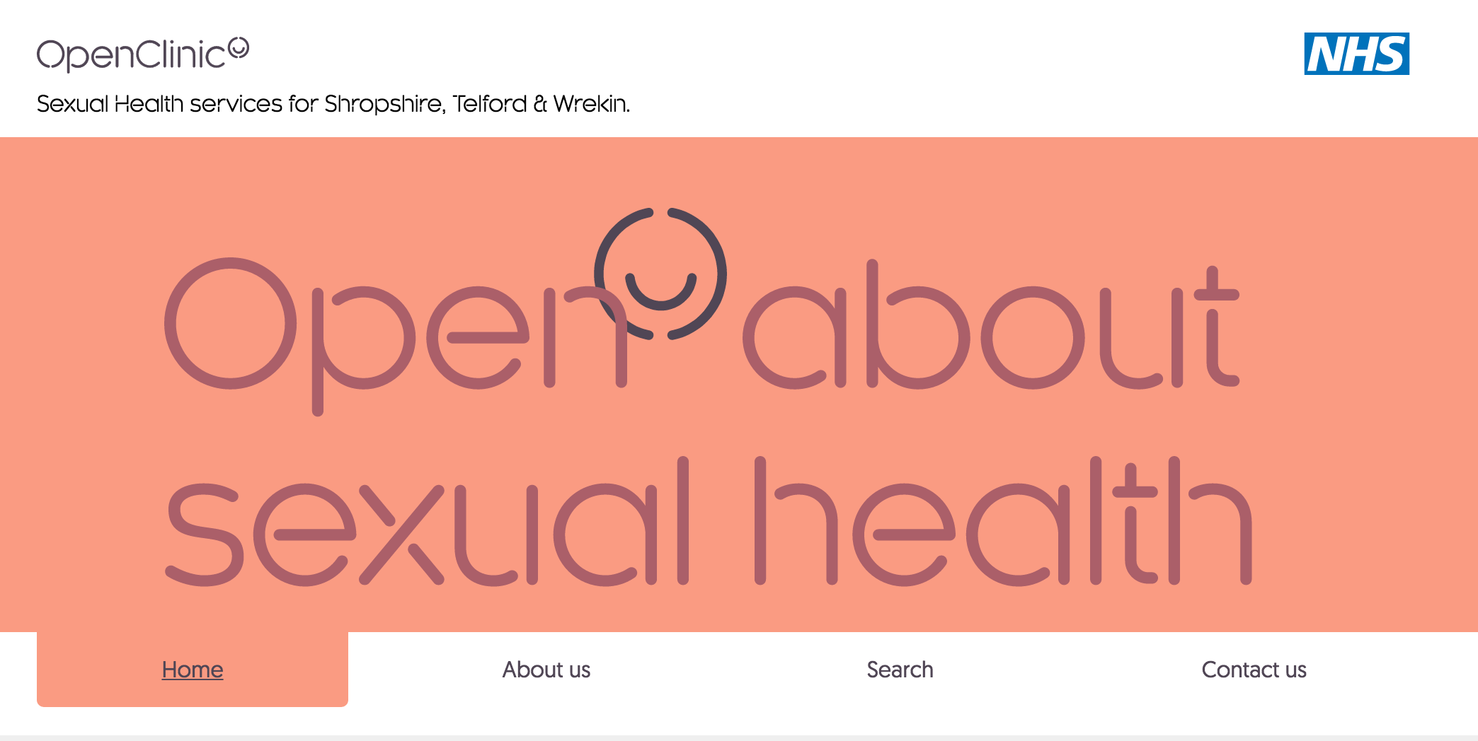 OpenClinic | Shropshire and Telford & Wrekin sexual health services