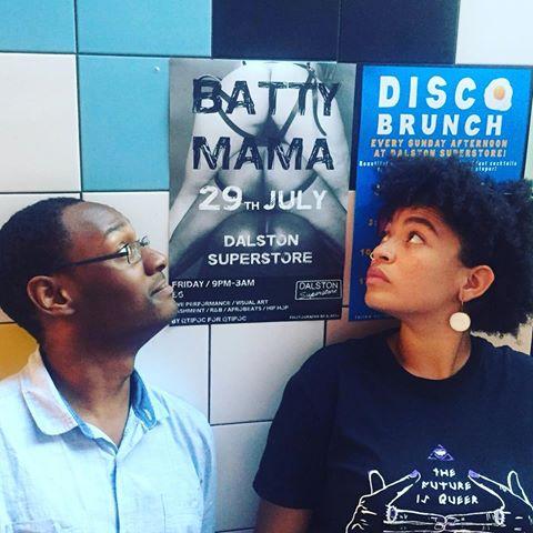 Batty Mama co-founders, Hakeem Kazeem andAma Josephine Budge