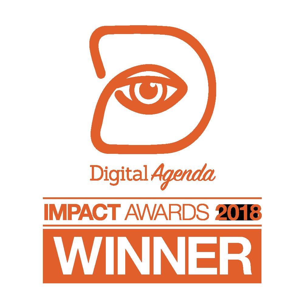 Digital Agenda Impact Awards 2018 - Winner