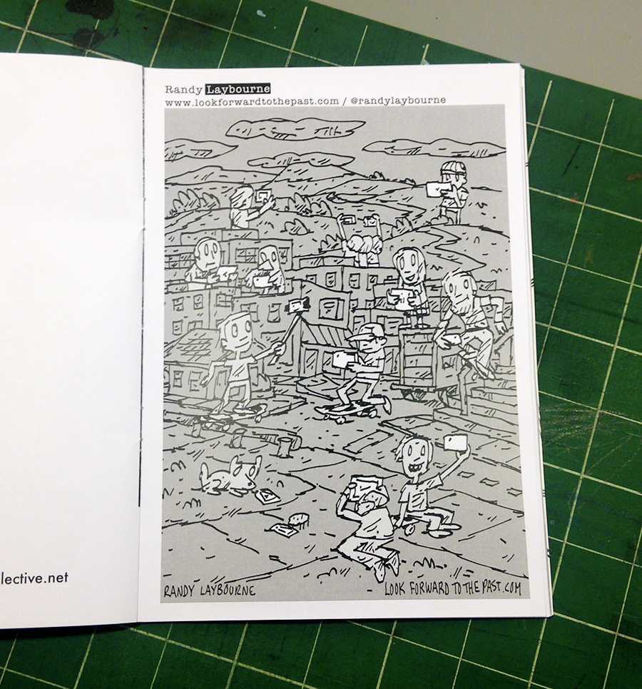The printed zine isn't dead at   DIY Zine  ! See digital piece   here  .