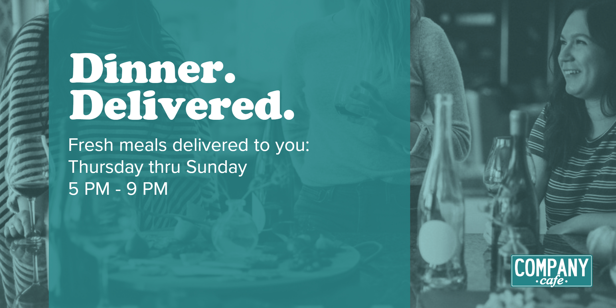 Company Cafe dinner delivery