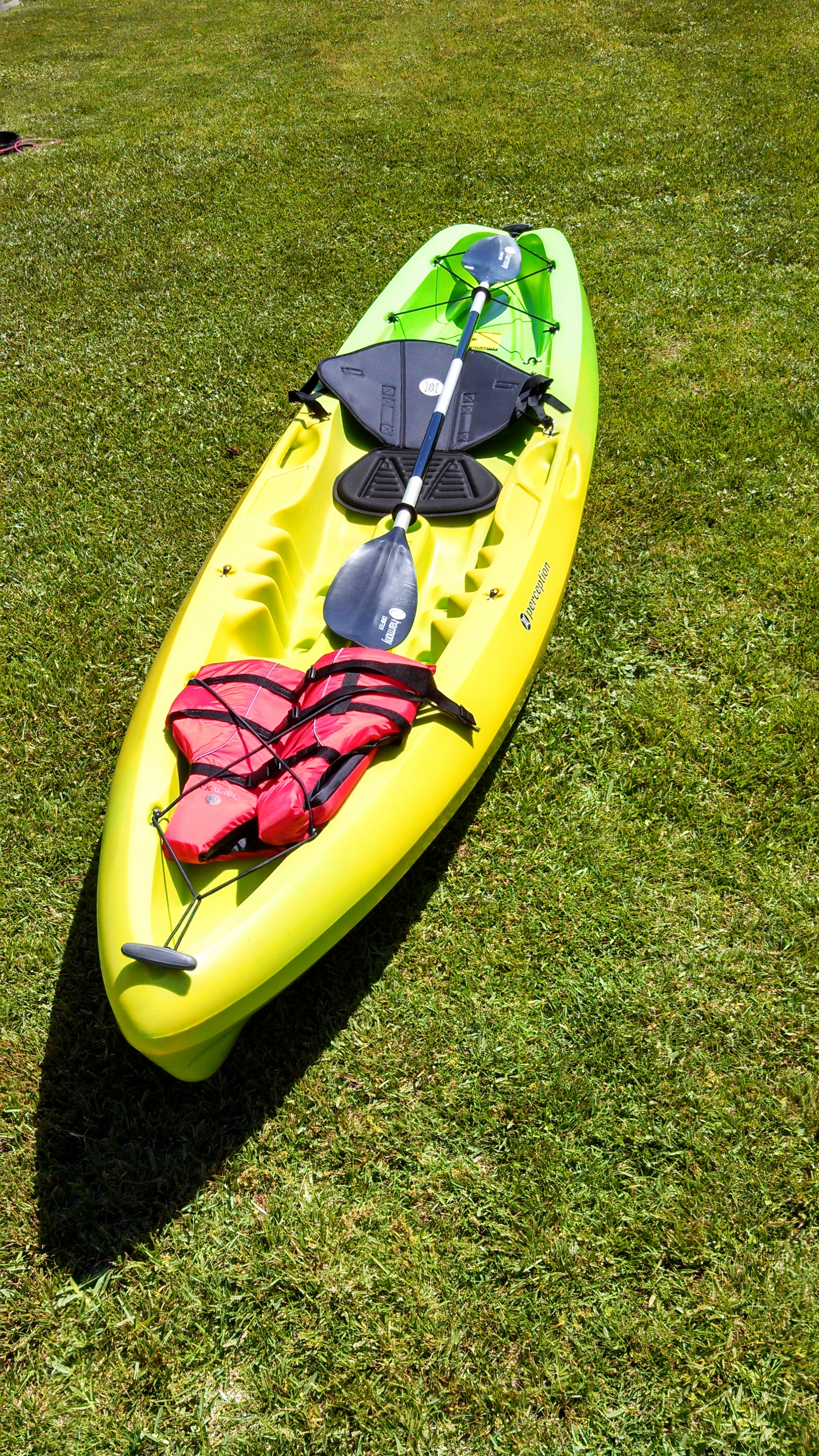 Our single kayak model.