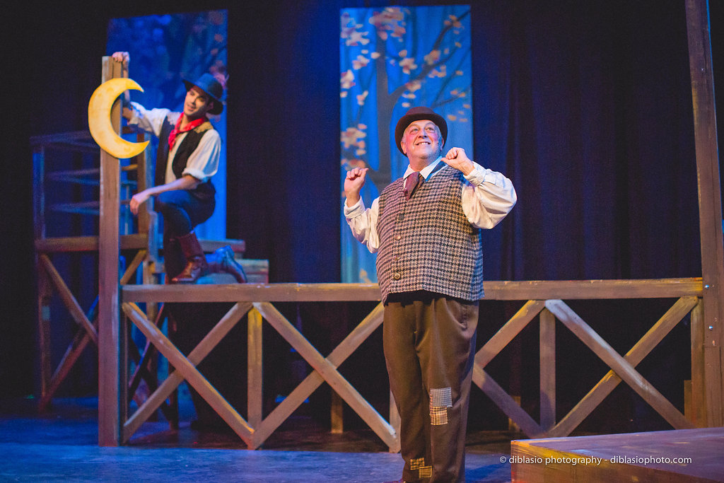 The Fantasticks  at The Weathervane Playhouse. Photo:  Chad DiBlasio.