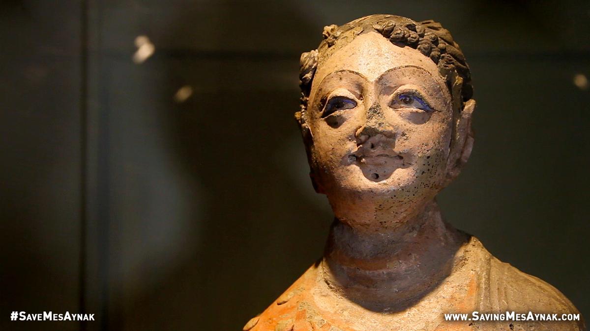 Buddhist Devotee Statue
