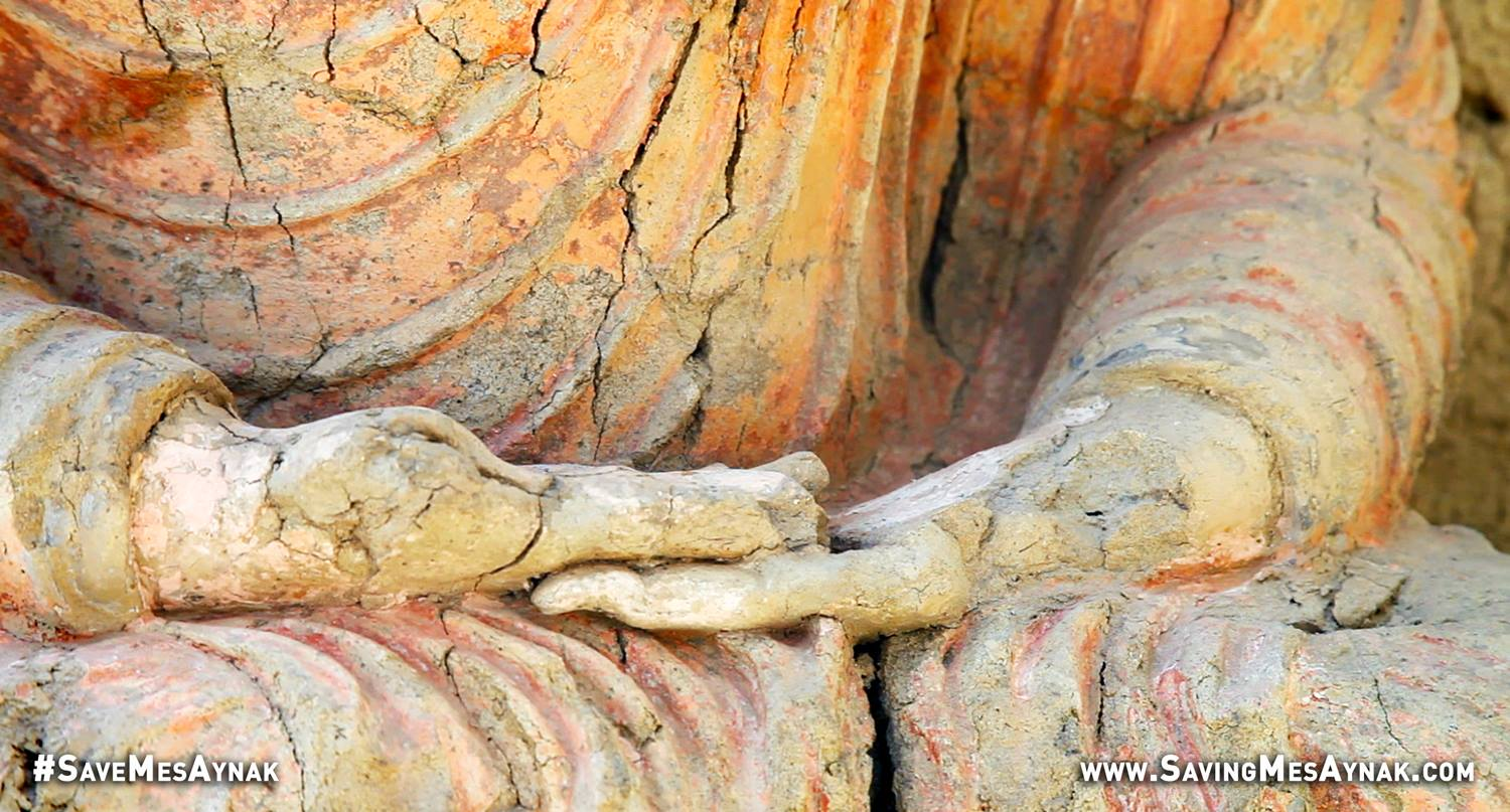 Hands of A Seated Buddha