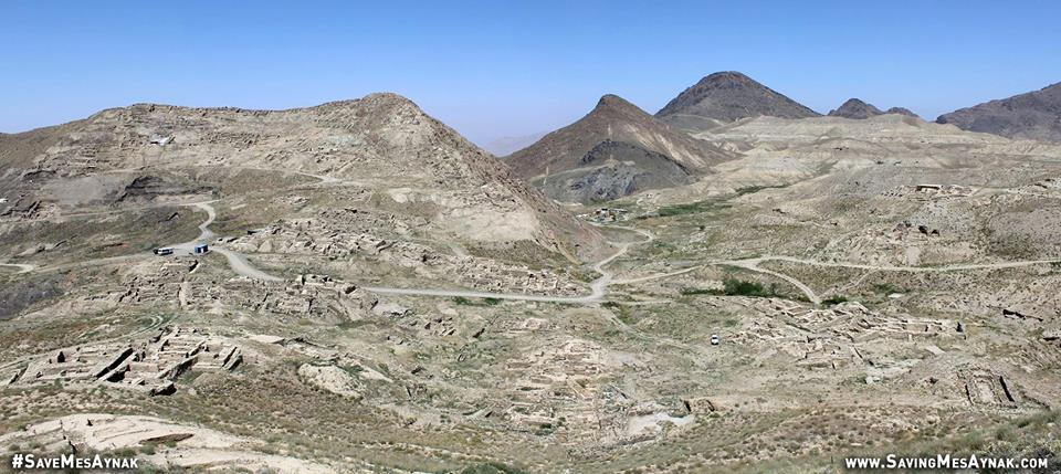 A reminder of the epic size and beauty of Mes Aynak. Remember: only 10% of the site has been fully excavated.