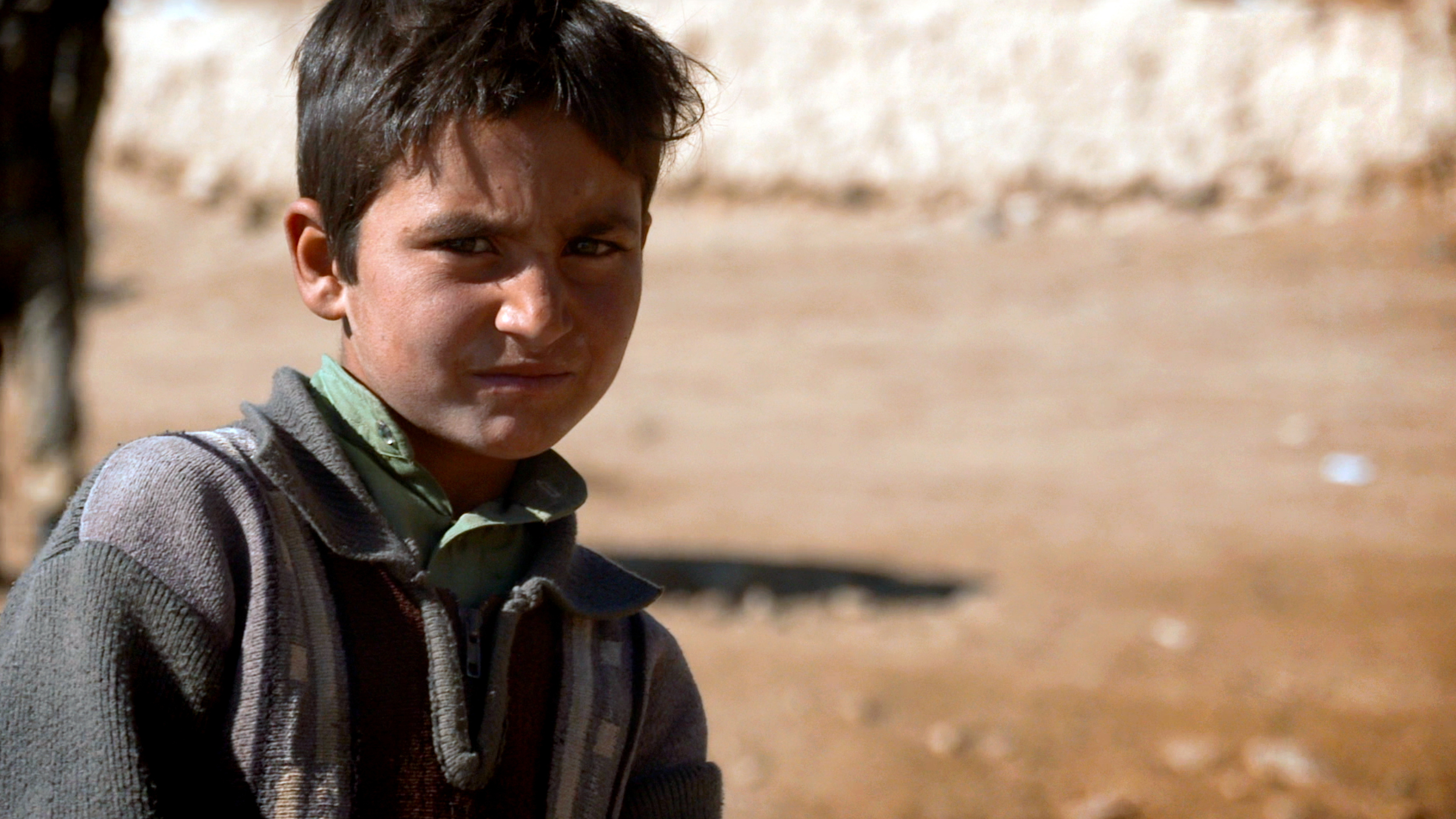 Hashim, the son of one of Mes Aynak's brave archaeologists.