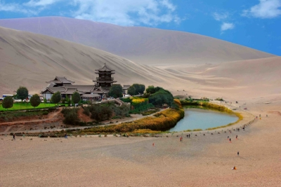 City of Dunhuang, China. Photo: EveryChina News