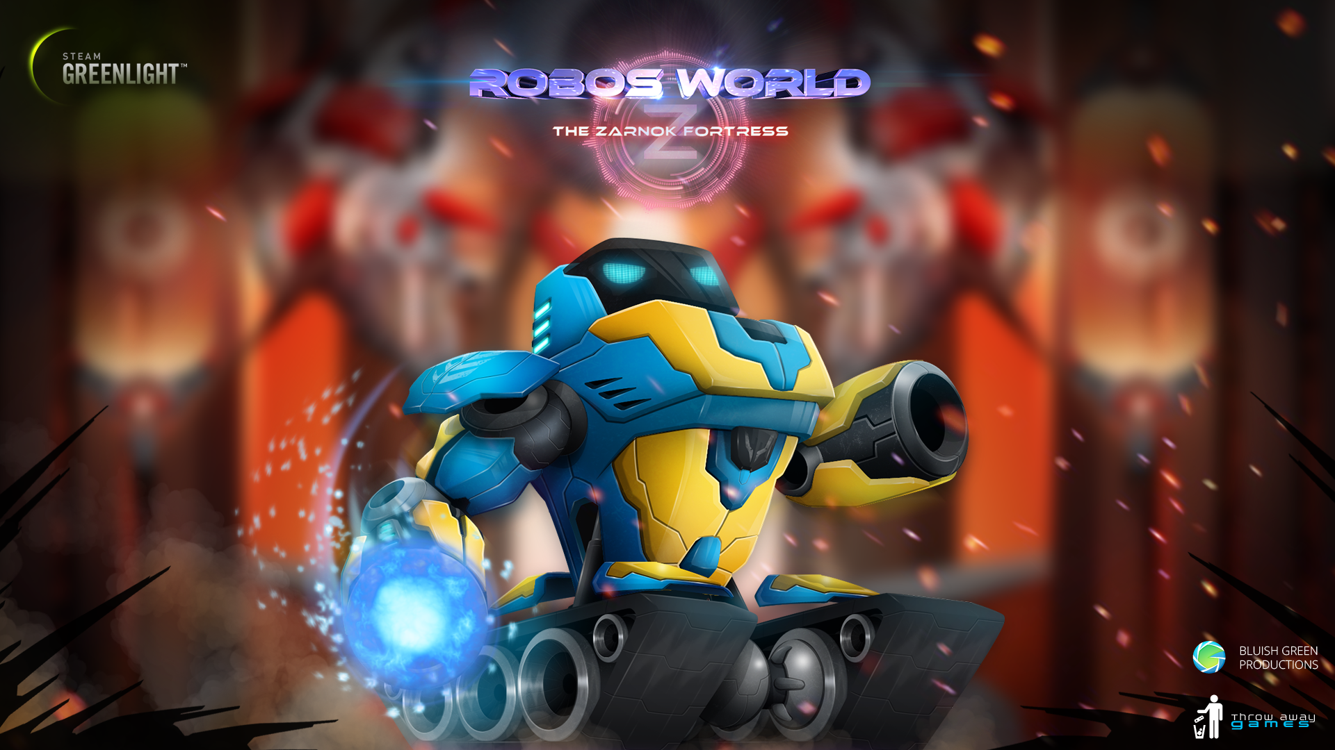 Please YES vote for Robo's World: The Zarnok Fortress on Steam Greenlight!