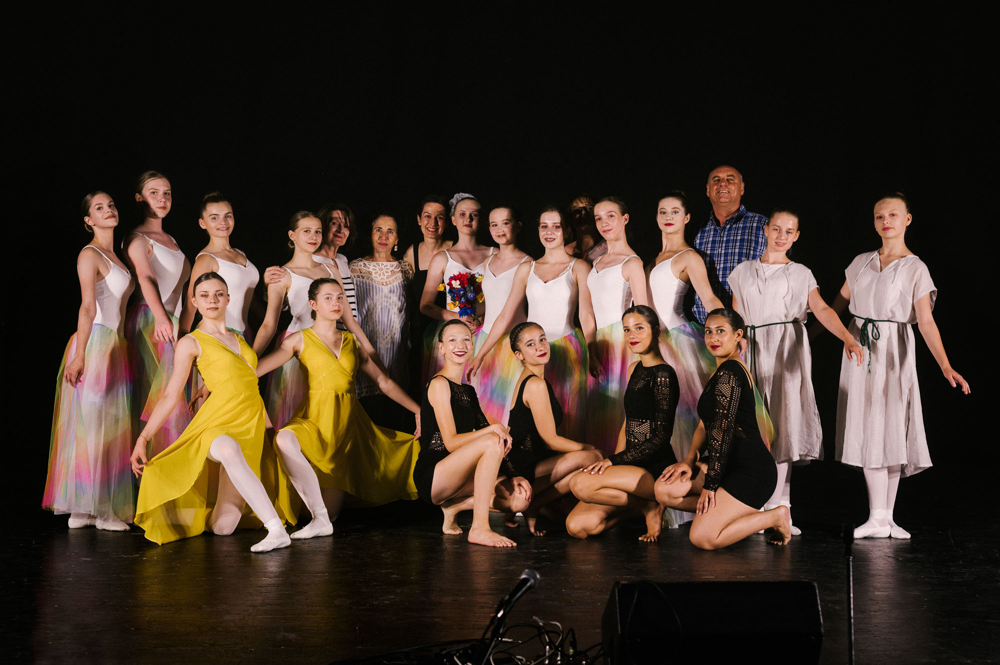 SOB performance in Richon LeZion, Israel with Varda Shoval's dance group, June 2019