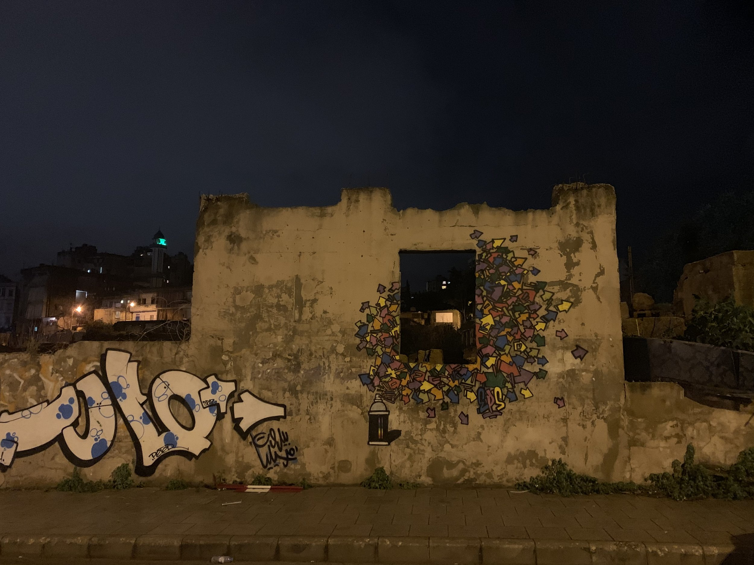 """Finestra con vista"", Beirut"
