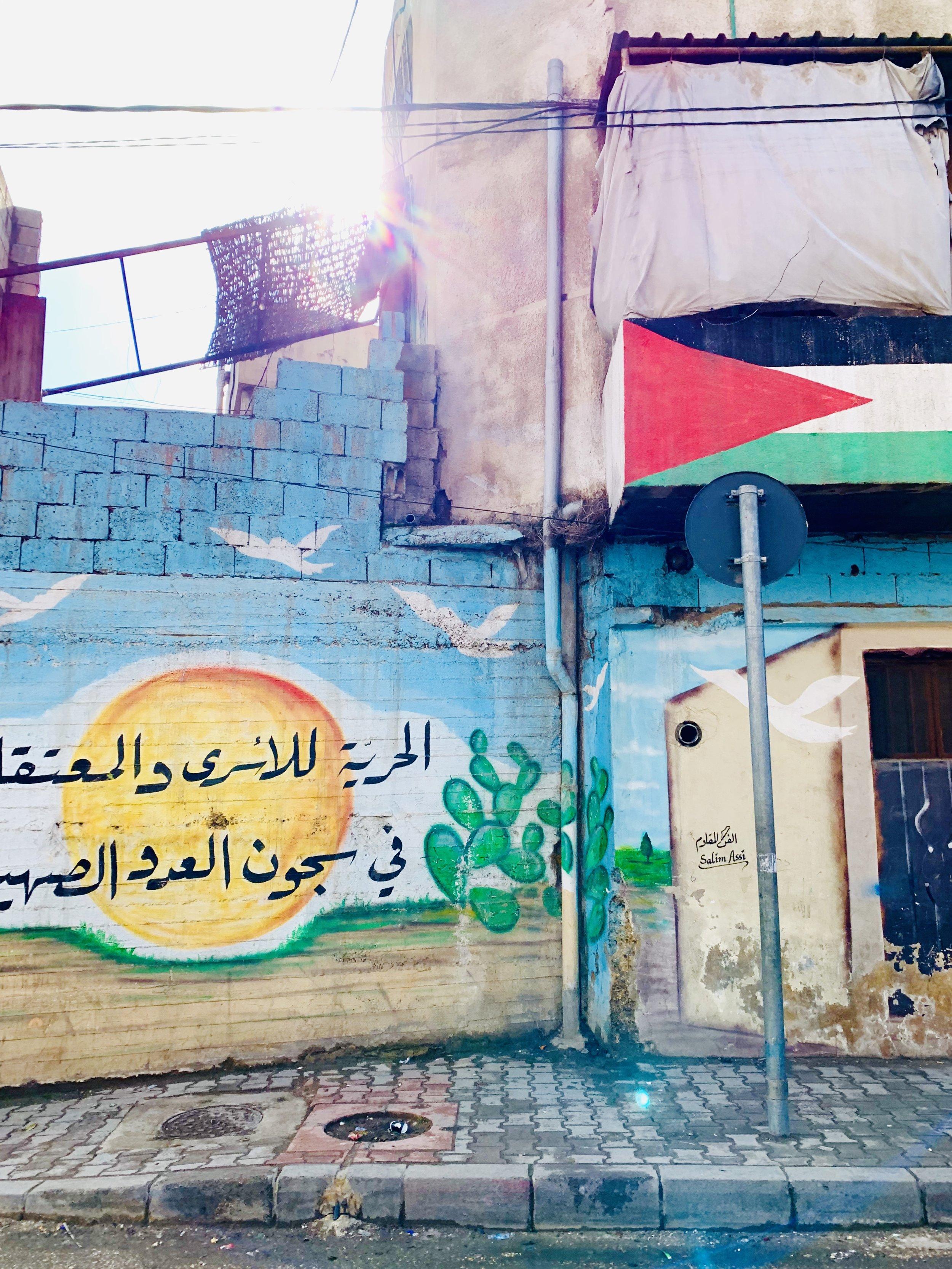 i libanesi amano esprimersi coi graffiti!