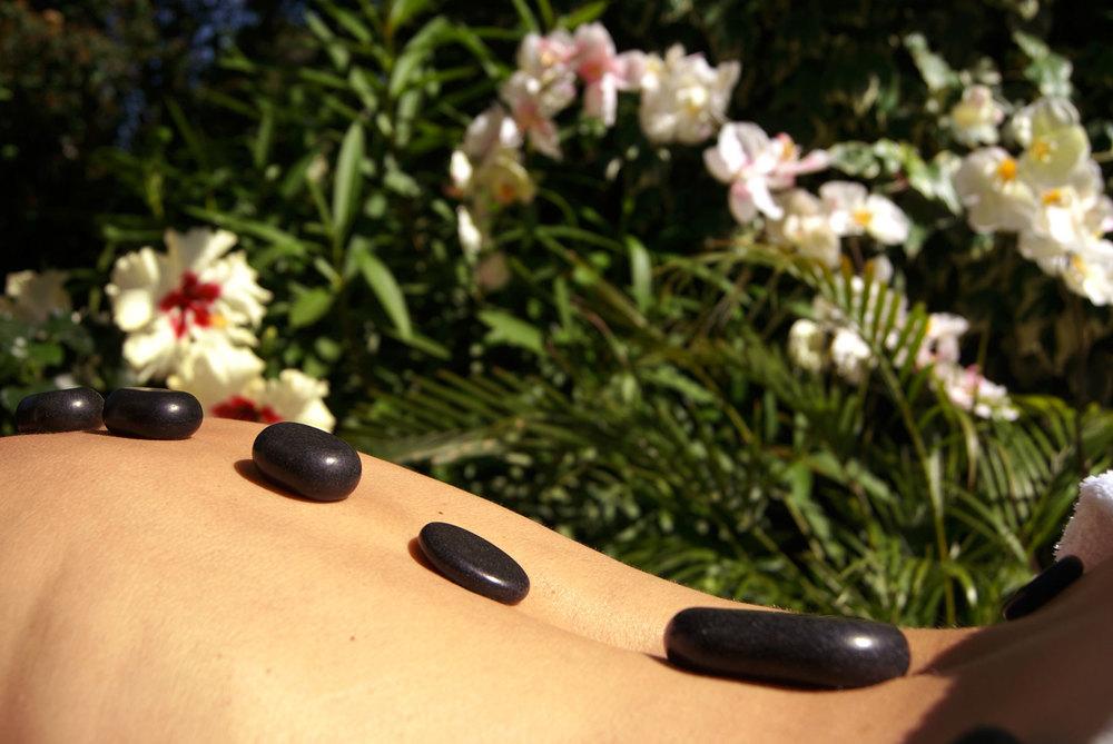 le fuji massage aux pierres chaudes
