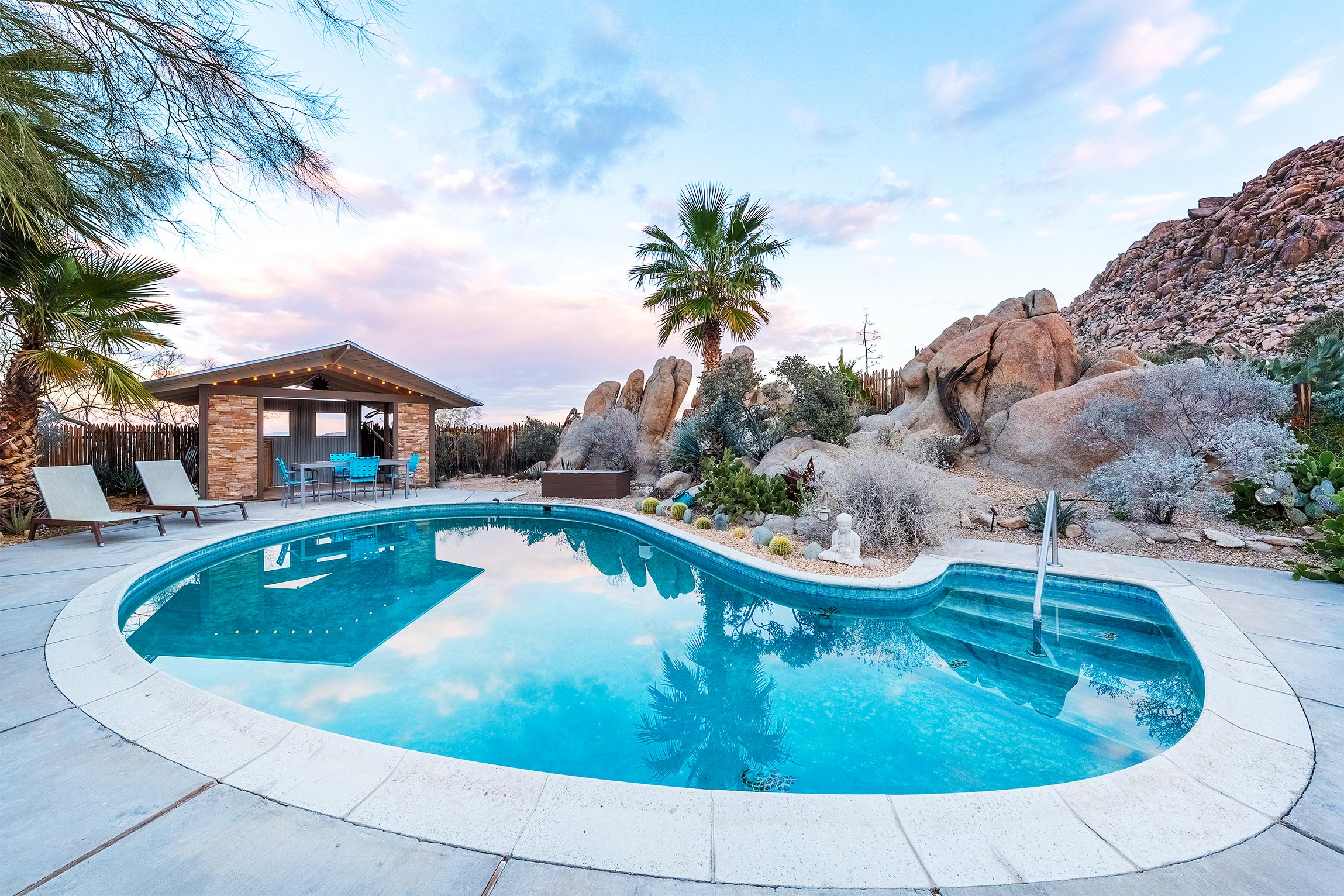 Rockbound  Oasis Retreat  Joshua Tree  Rental High Desert