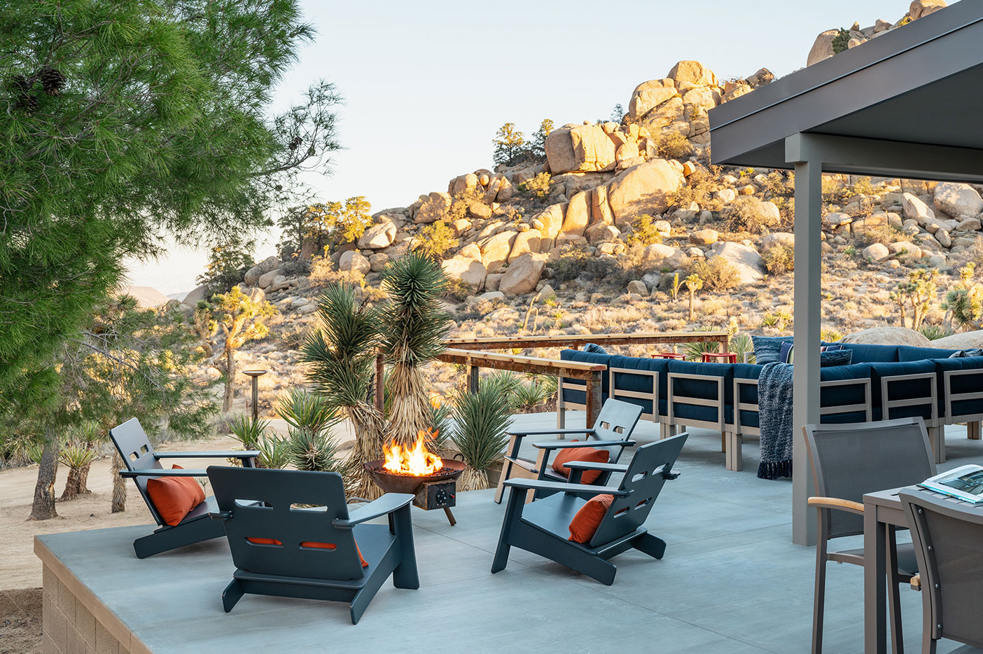 Concrete or Paver Patios - There is nothing more practical — and  beautiful (if correctly  conceived)  —  than a concrete or paver patio. They provide a year-round surface that is not impacted by rain. They also are easy to clean and they minimize the tracking of dirt into your home.