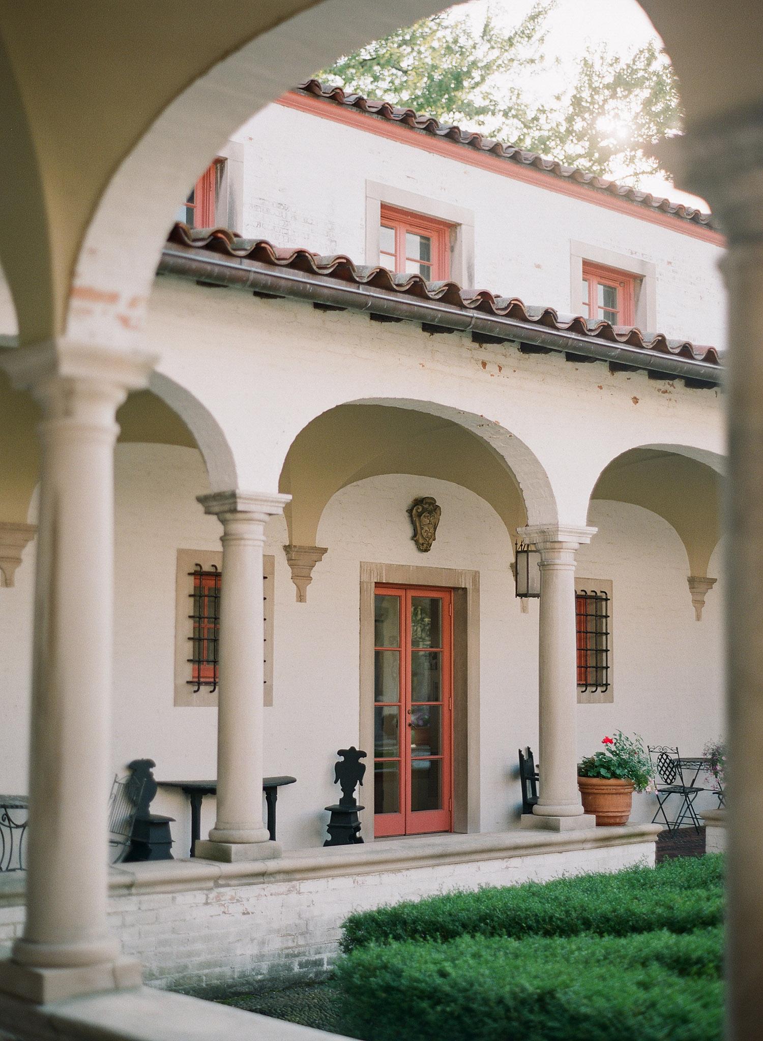 this italian villa is beautiful- The Villa Terrace is a favorite wedding venue of Destination Wedding Photographer Lexia Frank who shoots film at each wedding as she is a wedding film photographer