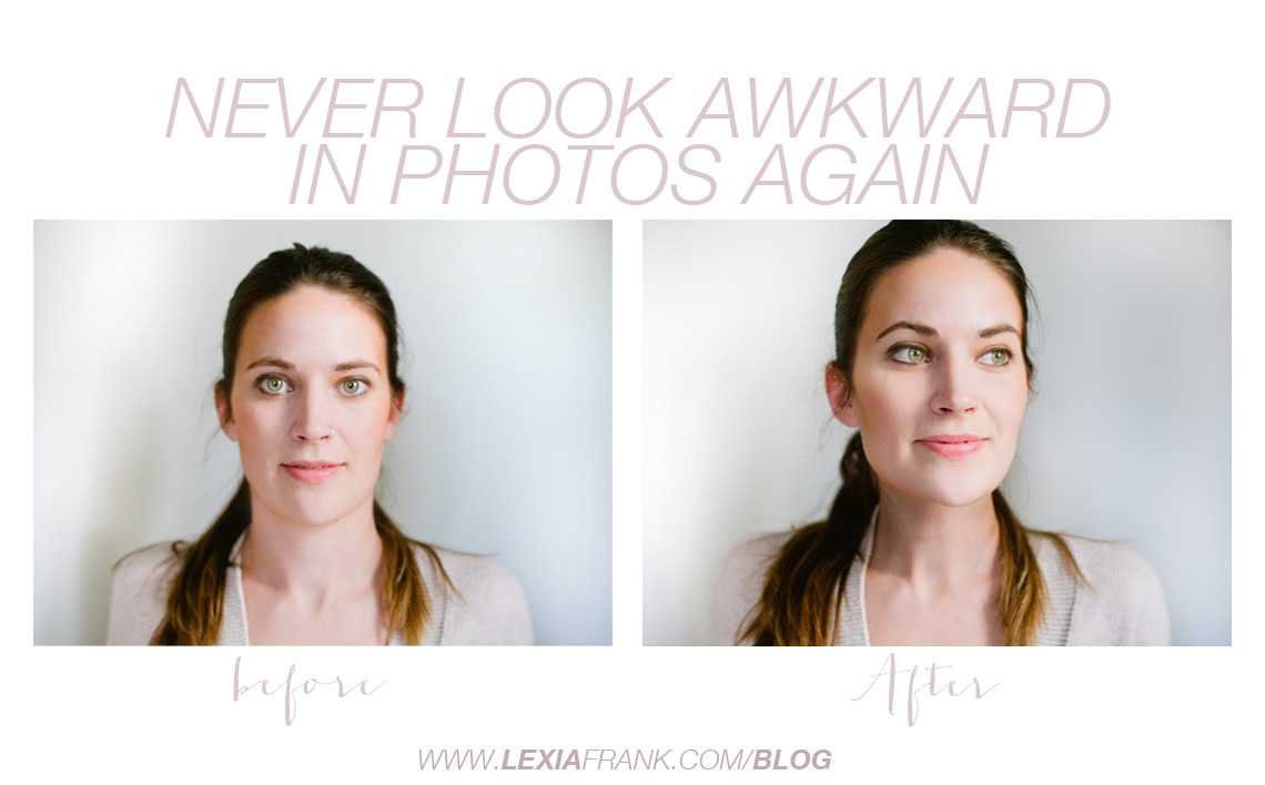get rid of the double chin and stop looking awkward in photos that are taken of you with a really simple trick that takes two seconds. it's a modeling secret that anyone can employ to smooth out neck wrinkles and get rid of the double chin. Lexia is a destination wedding photographer and luxury wedding photographer based on the west coast.  www.lexiafrank.com