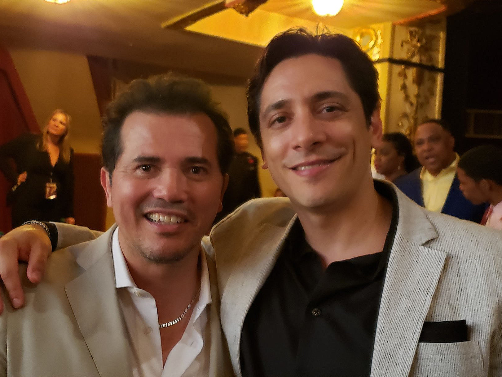 with JOHN LEGUIZAMO at The Apollo Theater Premiere of 'WHEN THEY SEE US'