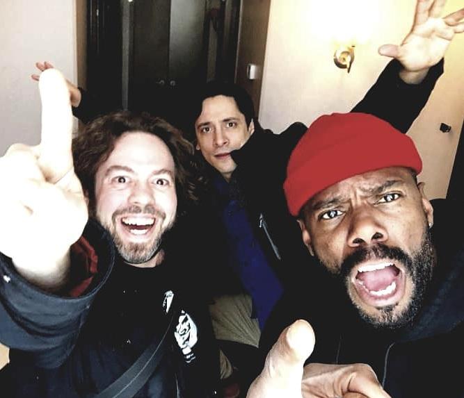 I join COLMAN DOMINGO & DAN FOGLER we talk Film vs Theater vs Zombies