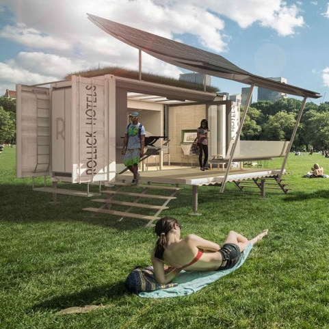 The Coolest Mobile Hotel Units We've Seen / Outside Online / March, 2015