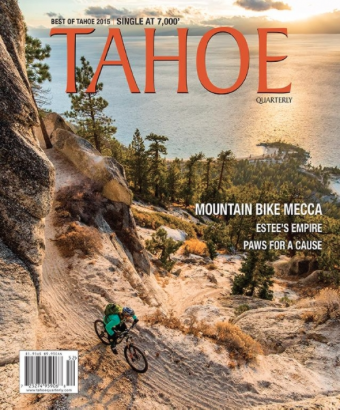 Trickle Down:  Retention basins that capture and clean stormwater are Tahoe's best bet for increased clarity /  Tahoe Quarterly / May, 2015