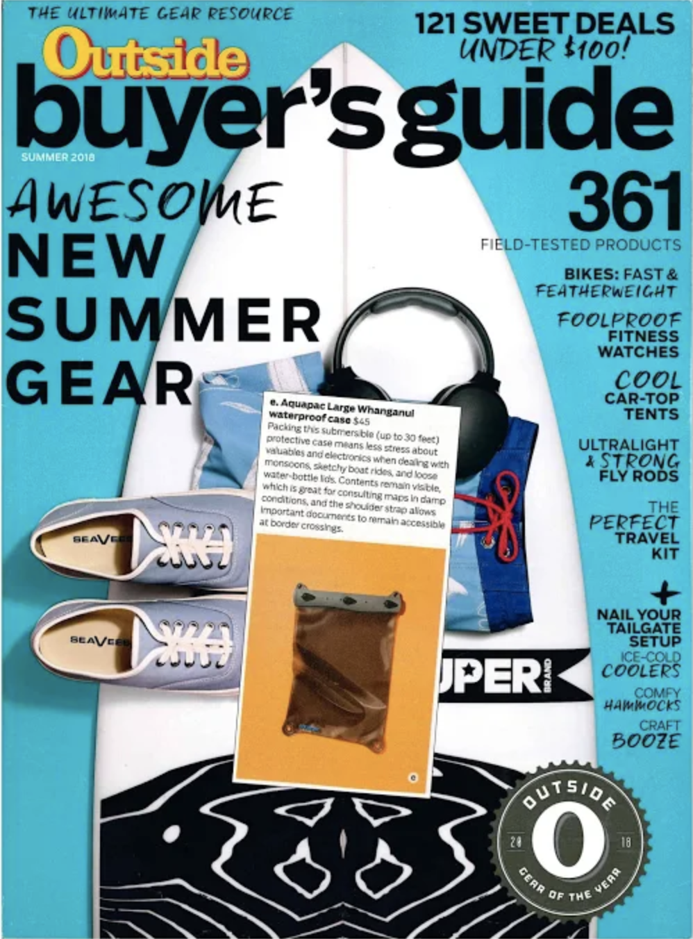 The Best Standup Paddleboards of 2019 /  Outside Magazine Summer Buyer's Guide / June, 2018