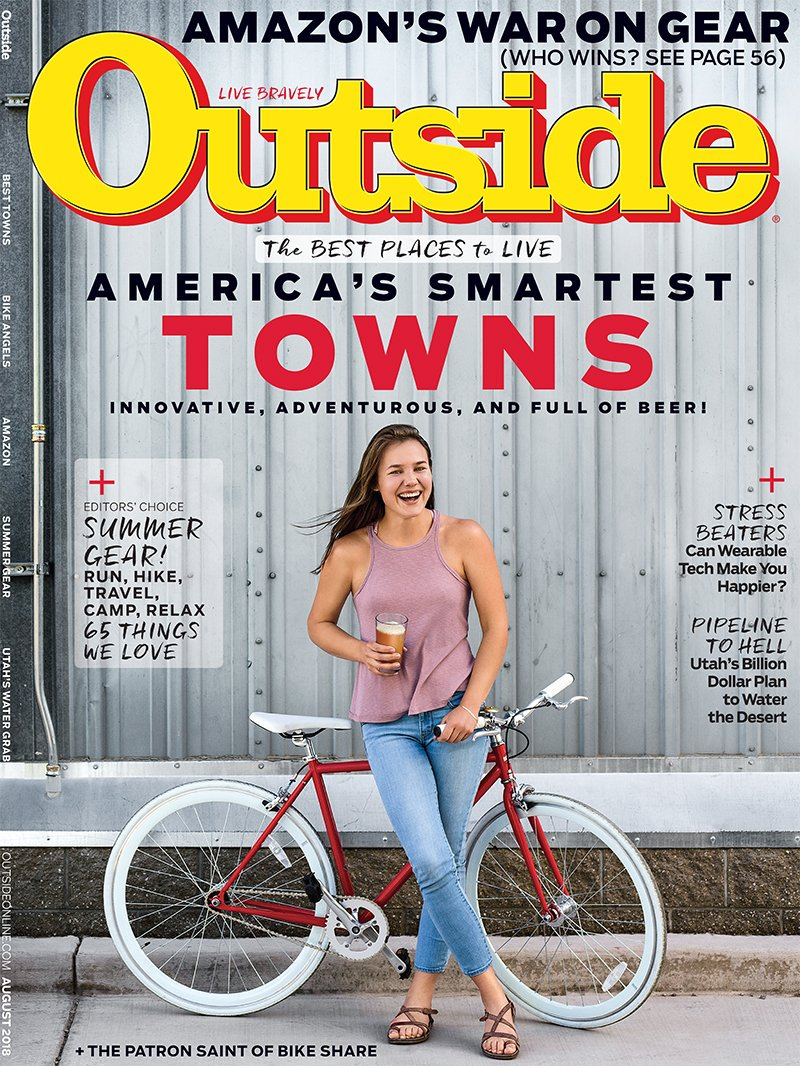 Float, Surf and Play Hard /  Outside Magazine / August, 2018