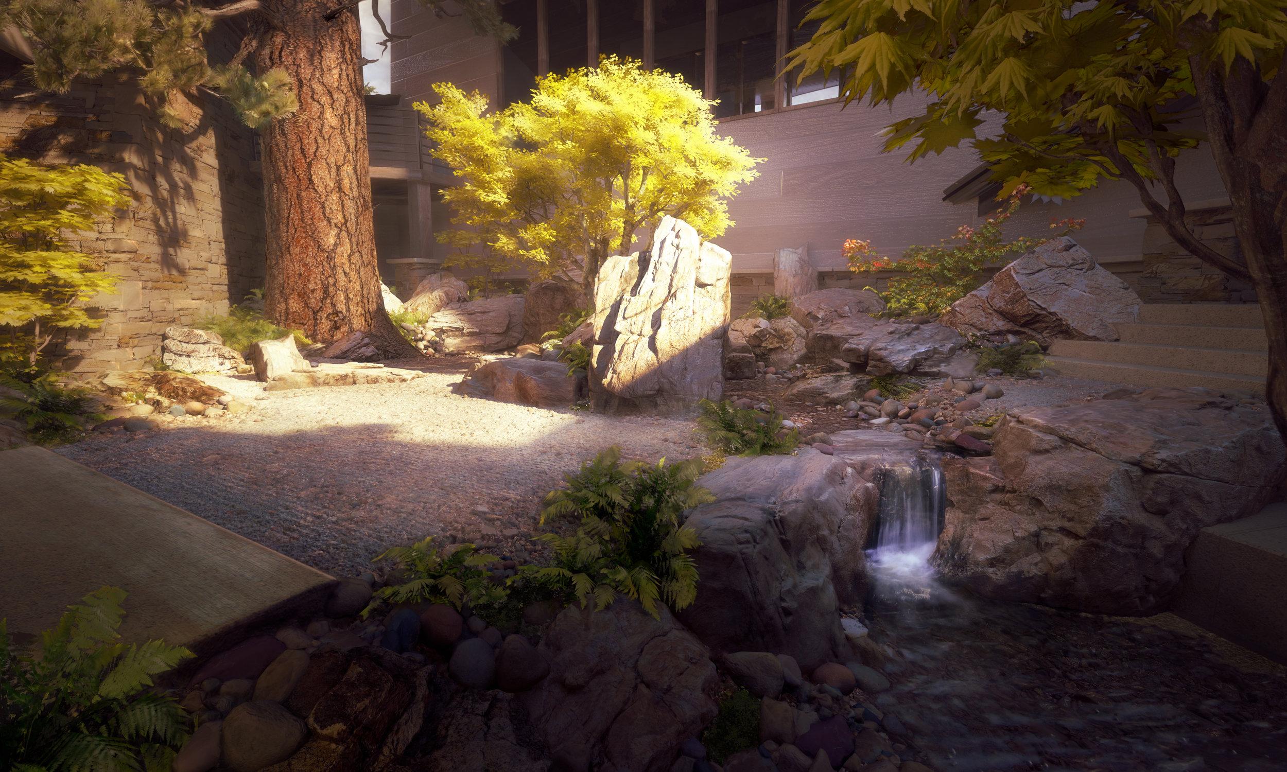 Zen Garden Courtyard