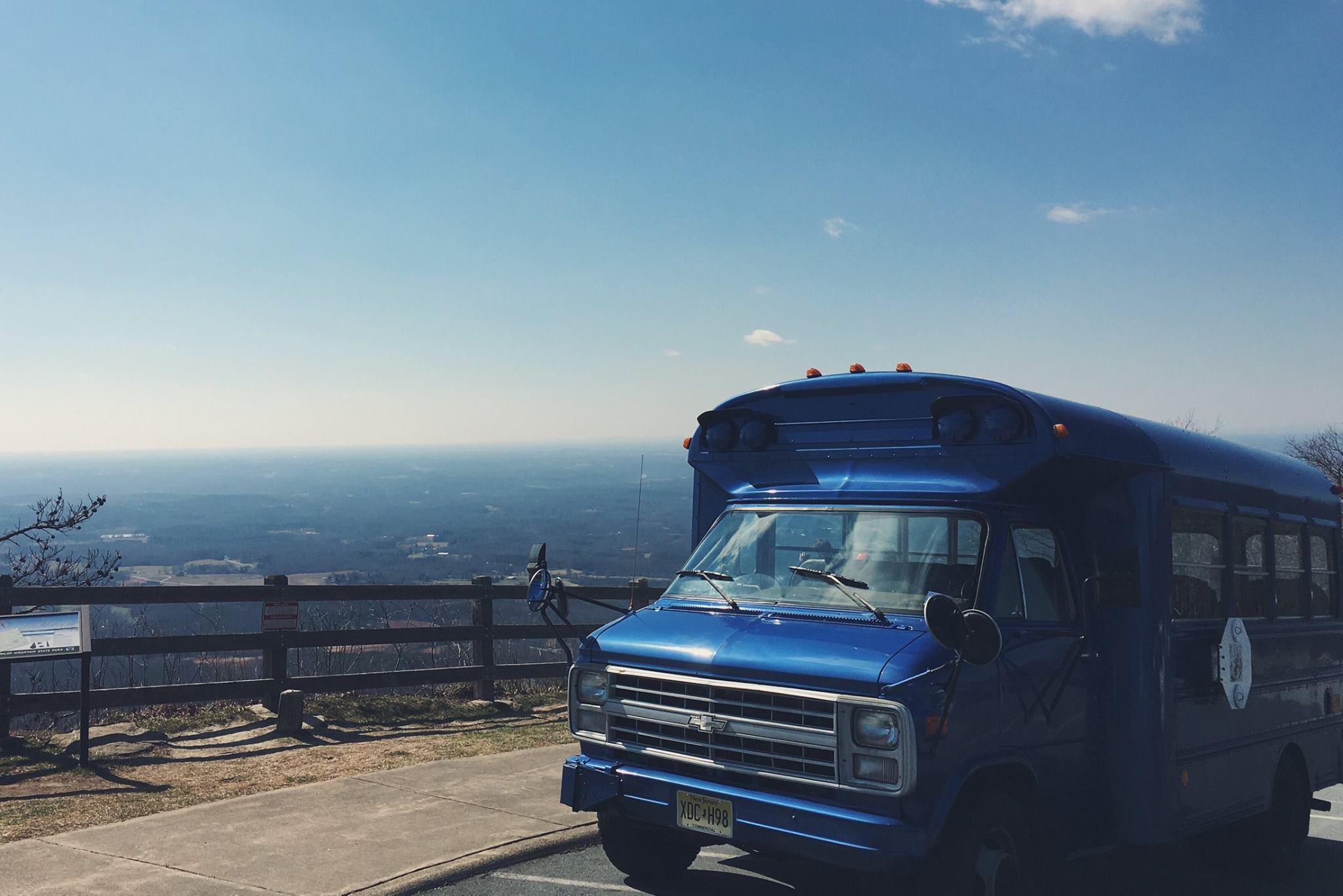 2.27.16 - Sure enough we made it! - Pilot Mountain, North Carolina