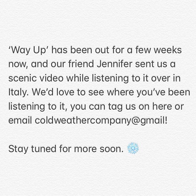Swipe for 'Way Up' in Italy, courtesy of @anywherelibrarian. Let's see where you're listening!  You can stream 'Way Up' through the link in our bio. . . . . #indiefolk #acousticmusic #newmusicalert #newmusicfriday #spotify #discoverweekly #releaseradar #newmusic #wayup #mainelife #maine #fleetfoxes #ironandwine #localnatives #boniver #mumfordandsons #roadtripping #camperlife #campingvibes #adventurephotography #outdoorshoot #outdooradventures #sufjanstevens #newjerseyisntboring #newenglandlife #visualwanderlust #wanderingphotographers #folkcreative #folkgreen