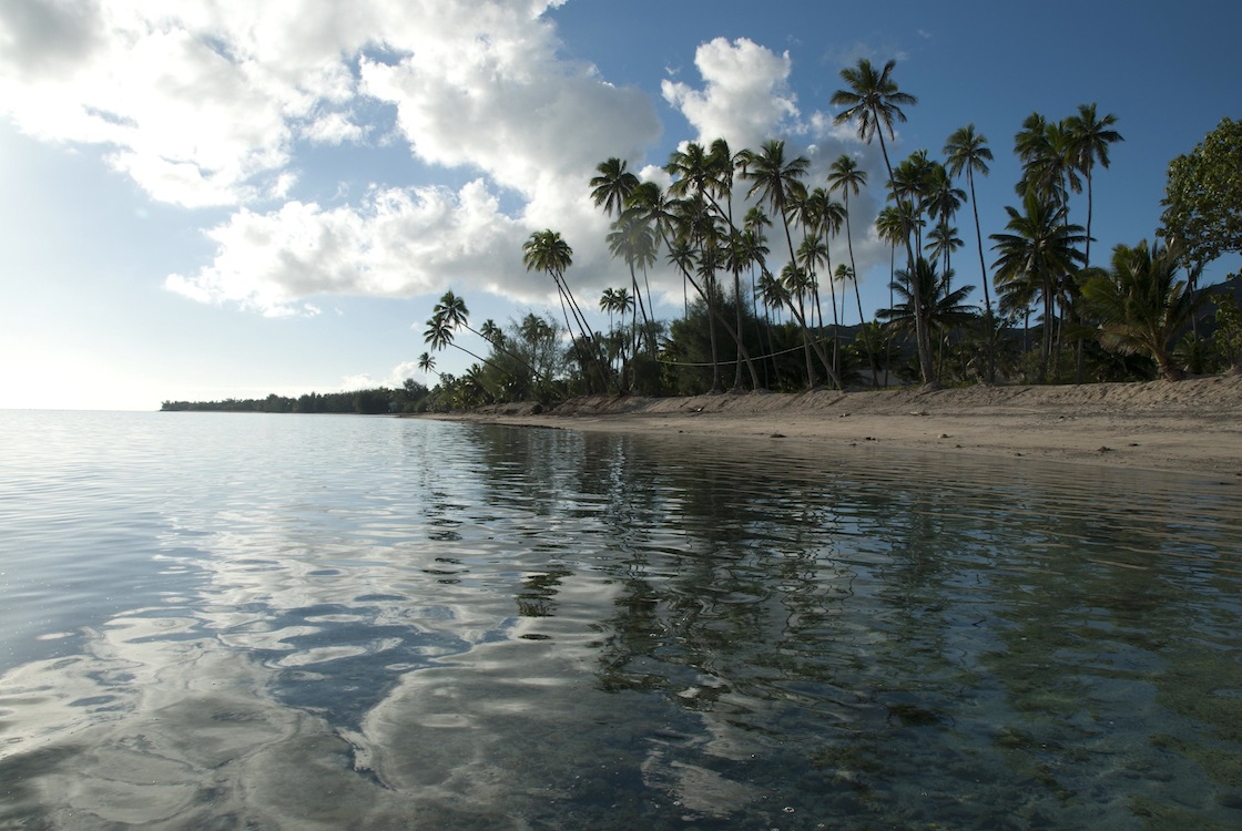 Rarotonga Beach Reflection.jpg