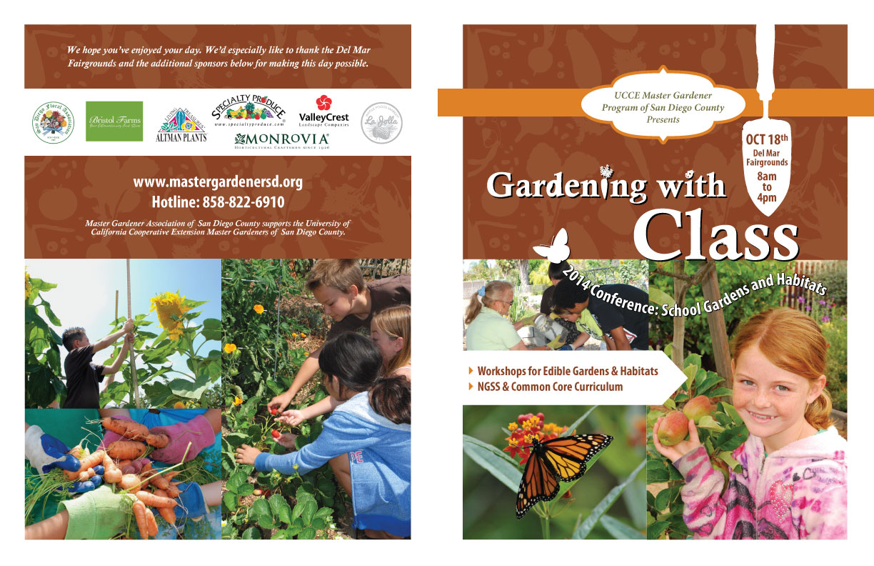 Gardening with Class Flyer: Exterior