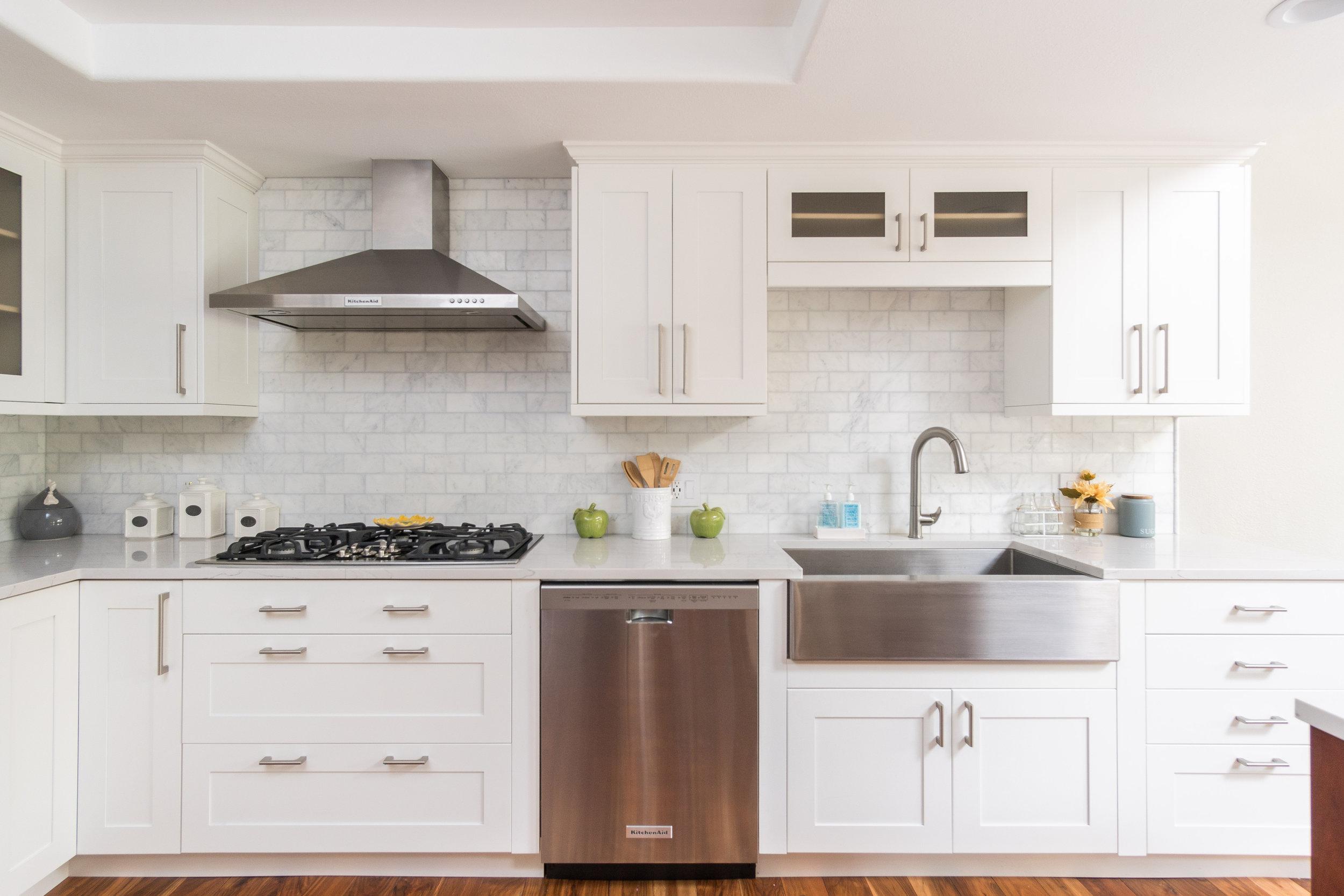 Interior Design Photography - Manhattan Beach Kitchen Remodel