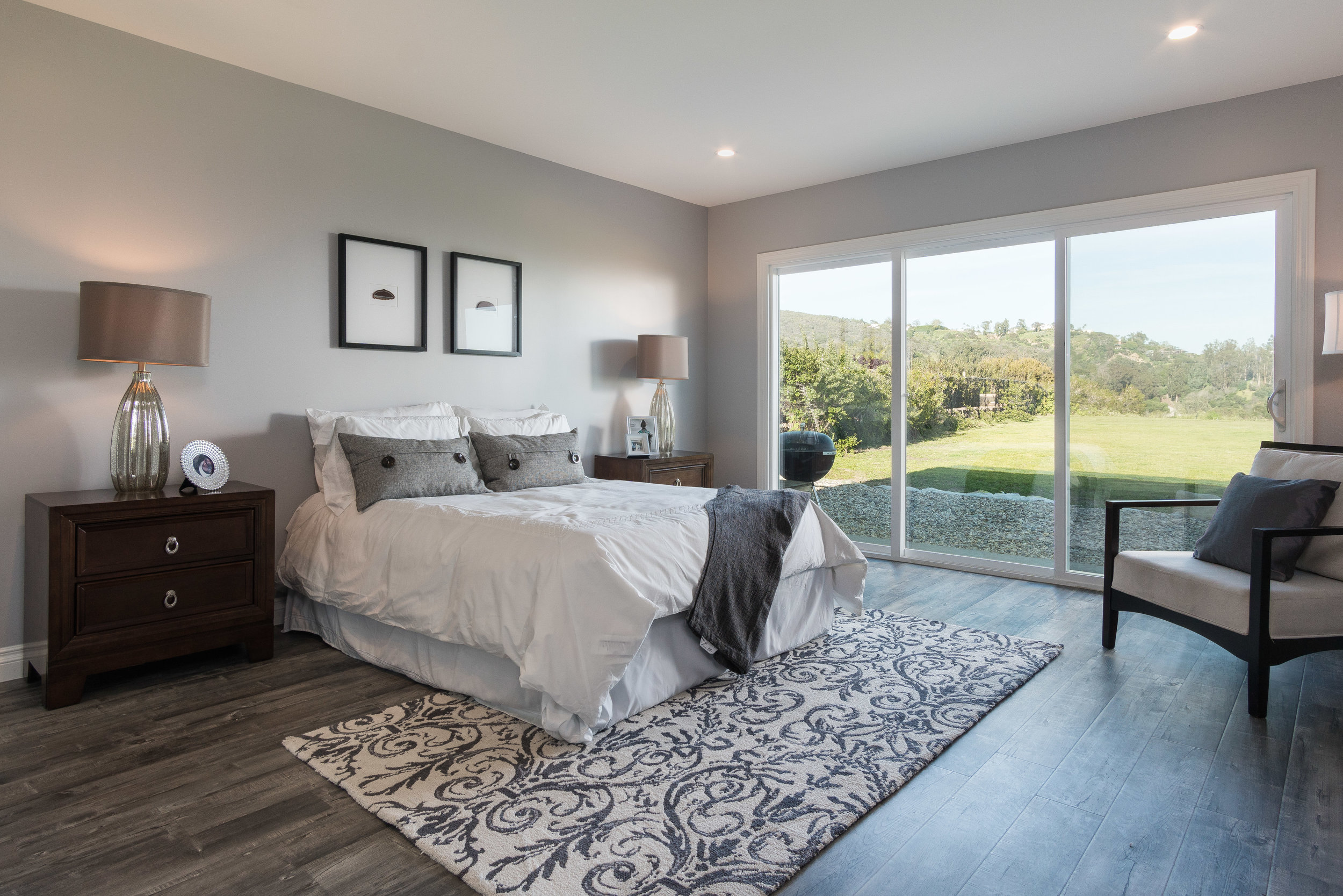 Delivered photo of the master bedroom ©Ryan Carr - Legacy Listing Photography - 2017