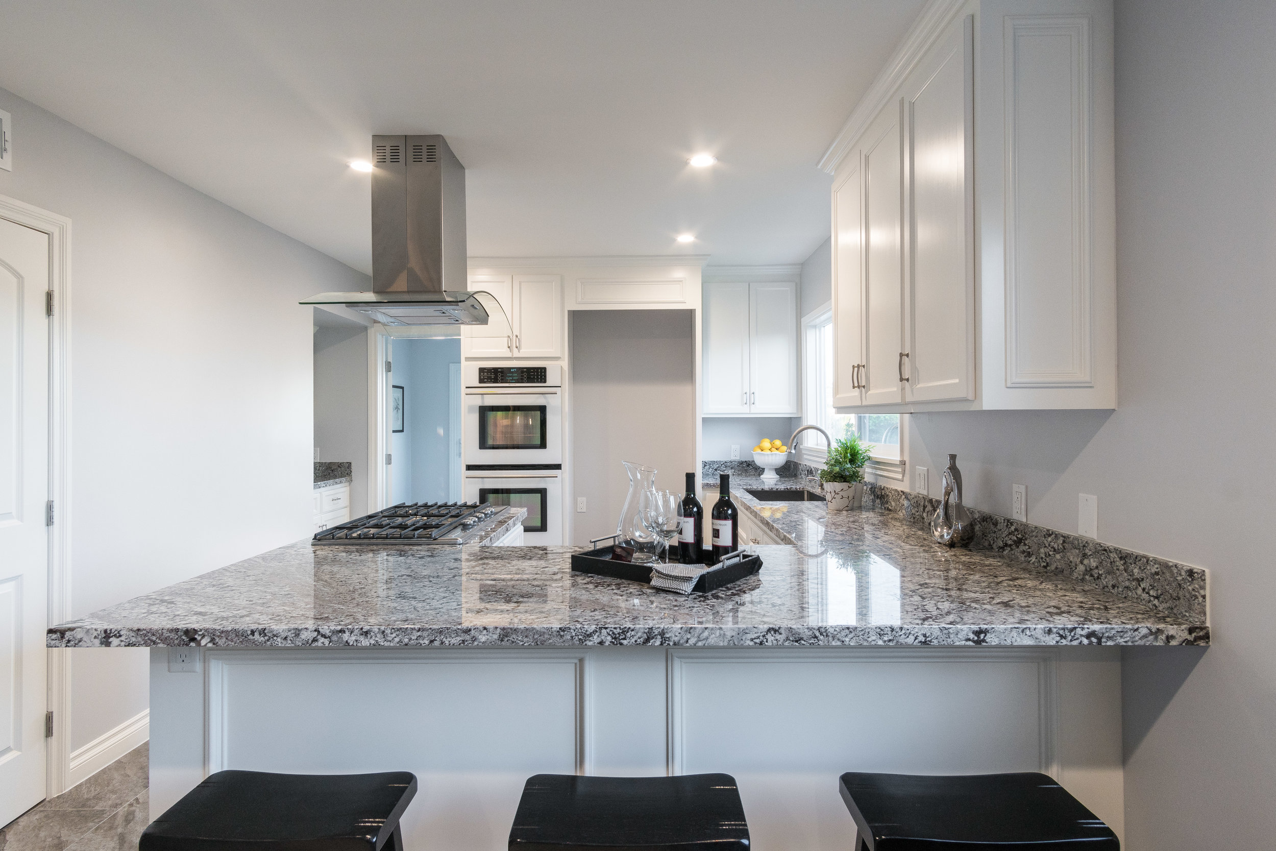 Delivered photo of the kitchen ©Ryan Carr - Legacy Listing Photography - 2017