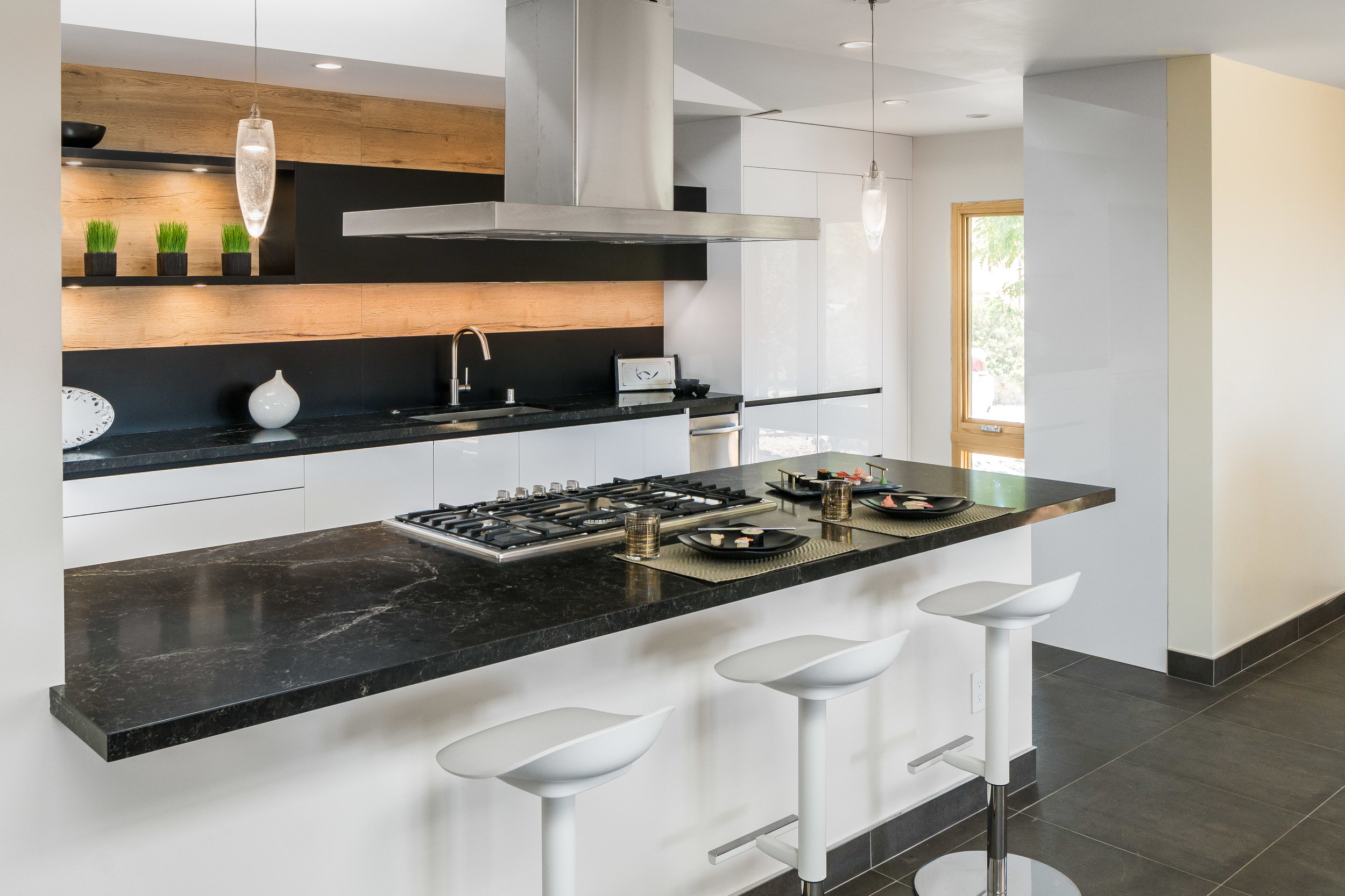 Snaidero USA kitchen remodel ©Ryan Carr - Legacy Listing Photography - 2018