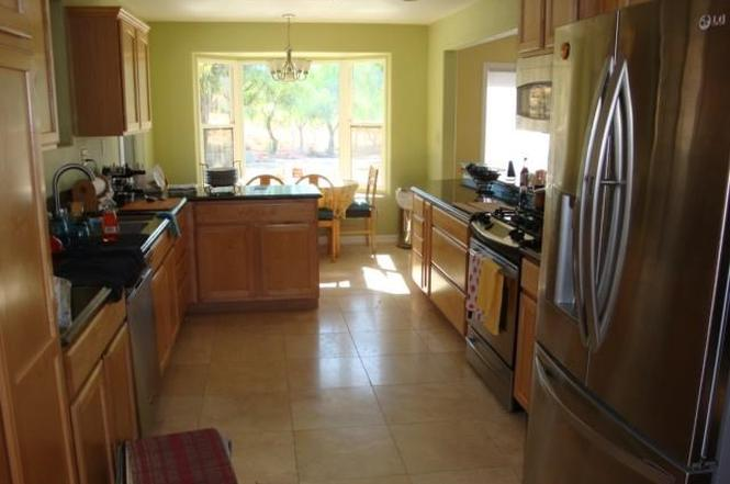 The kitchen before the remodel  (photo used with permission of Lucy Nixon Realty Inc)