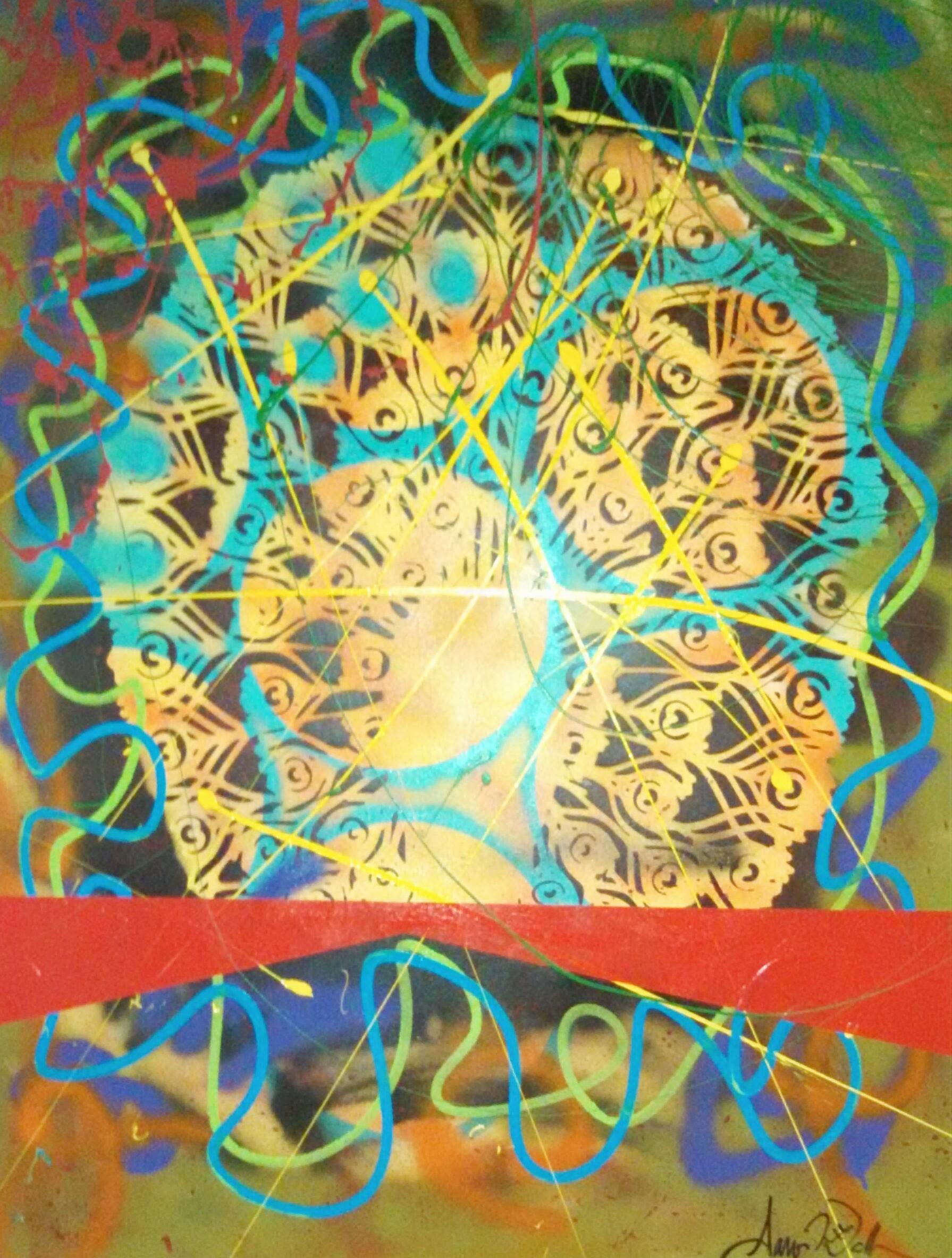 Peacock Sunrise II