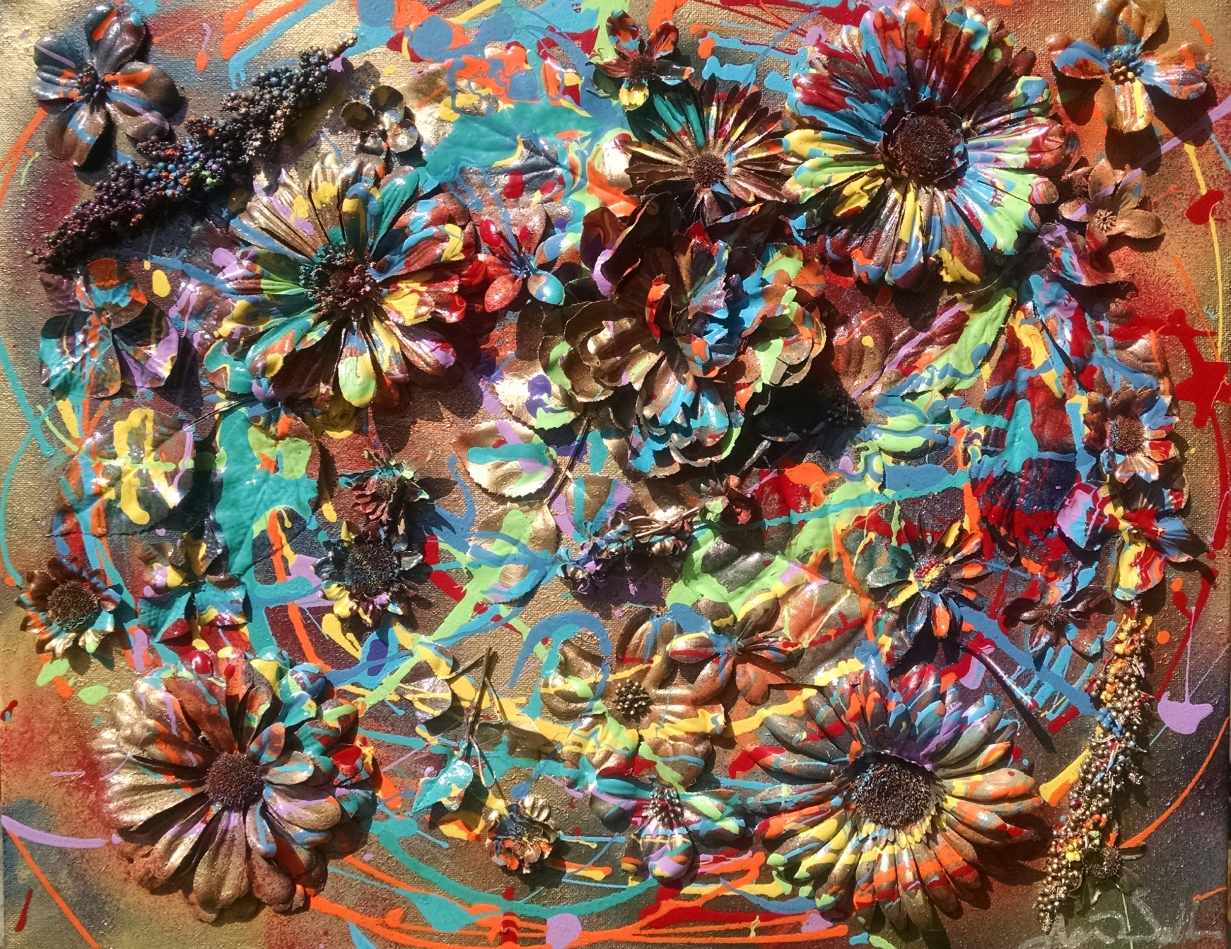 Flower Painting One