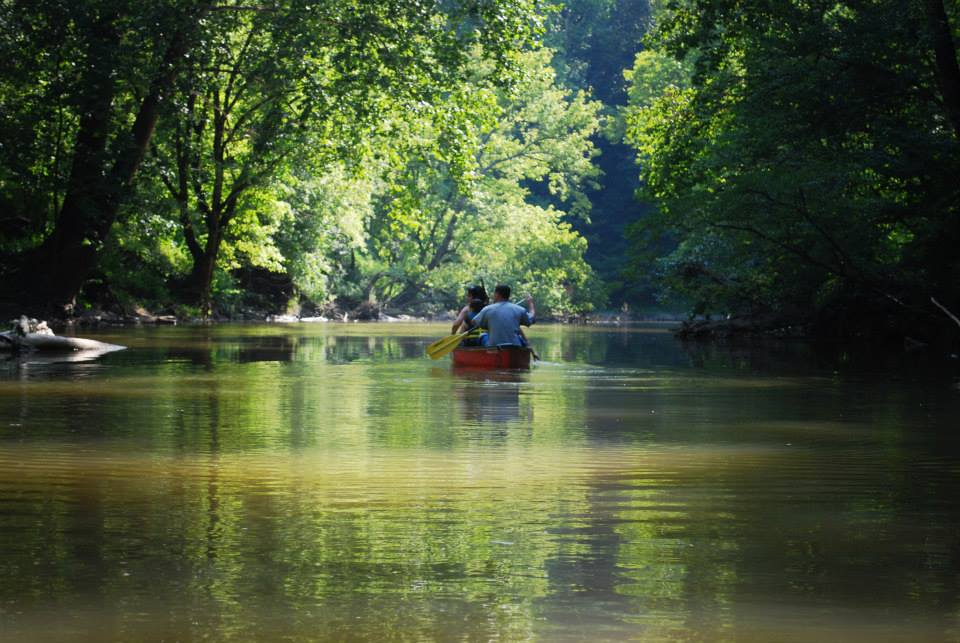 Canoe trip on the Red River