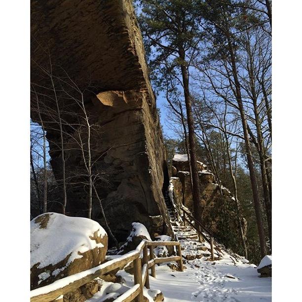 Natural Bridge State Resort Park, Slade, Kentucky  Photo via Instagrammer  @missmadison17