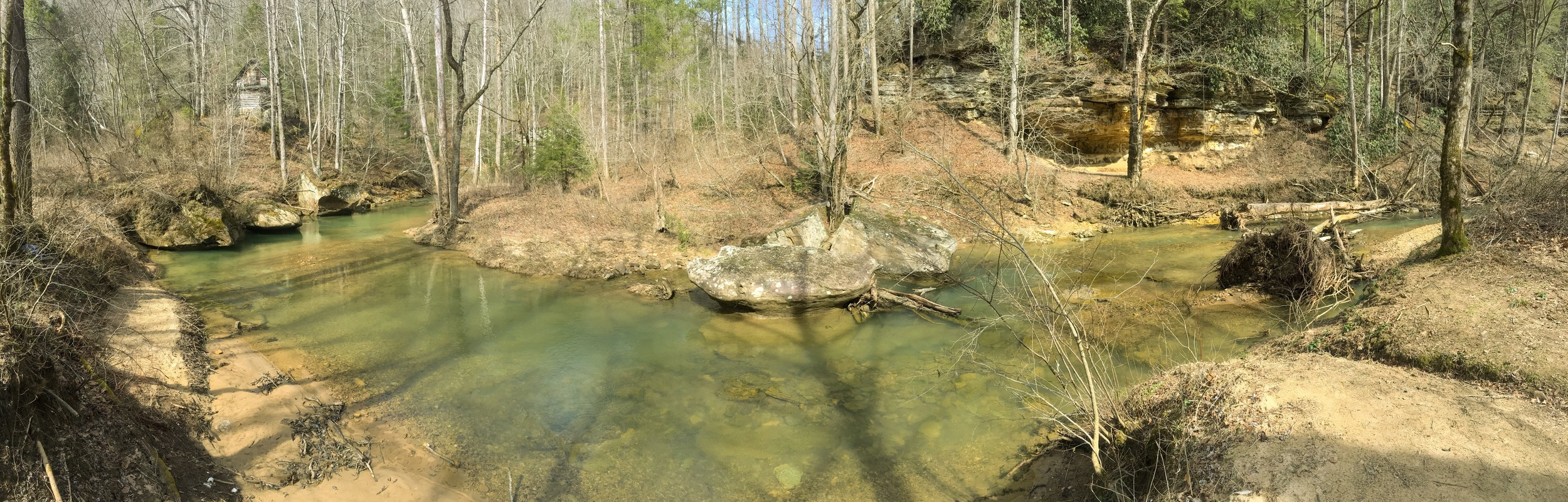Swift Camp Creek spot aka secret spot.