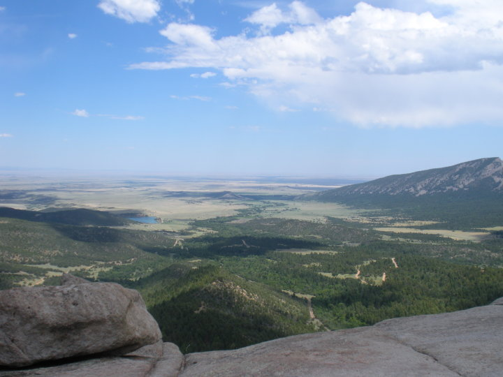 One of the spectacular views at Philmont Scout Ranch.