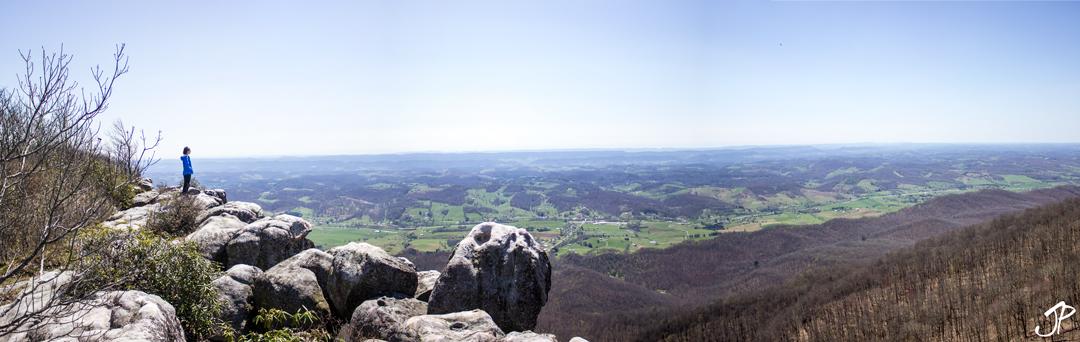 View from atop White Rocks, Virginia/Kentucky border.